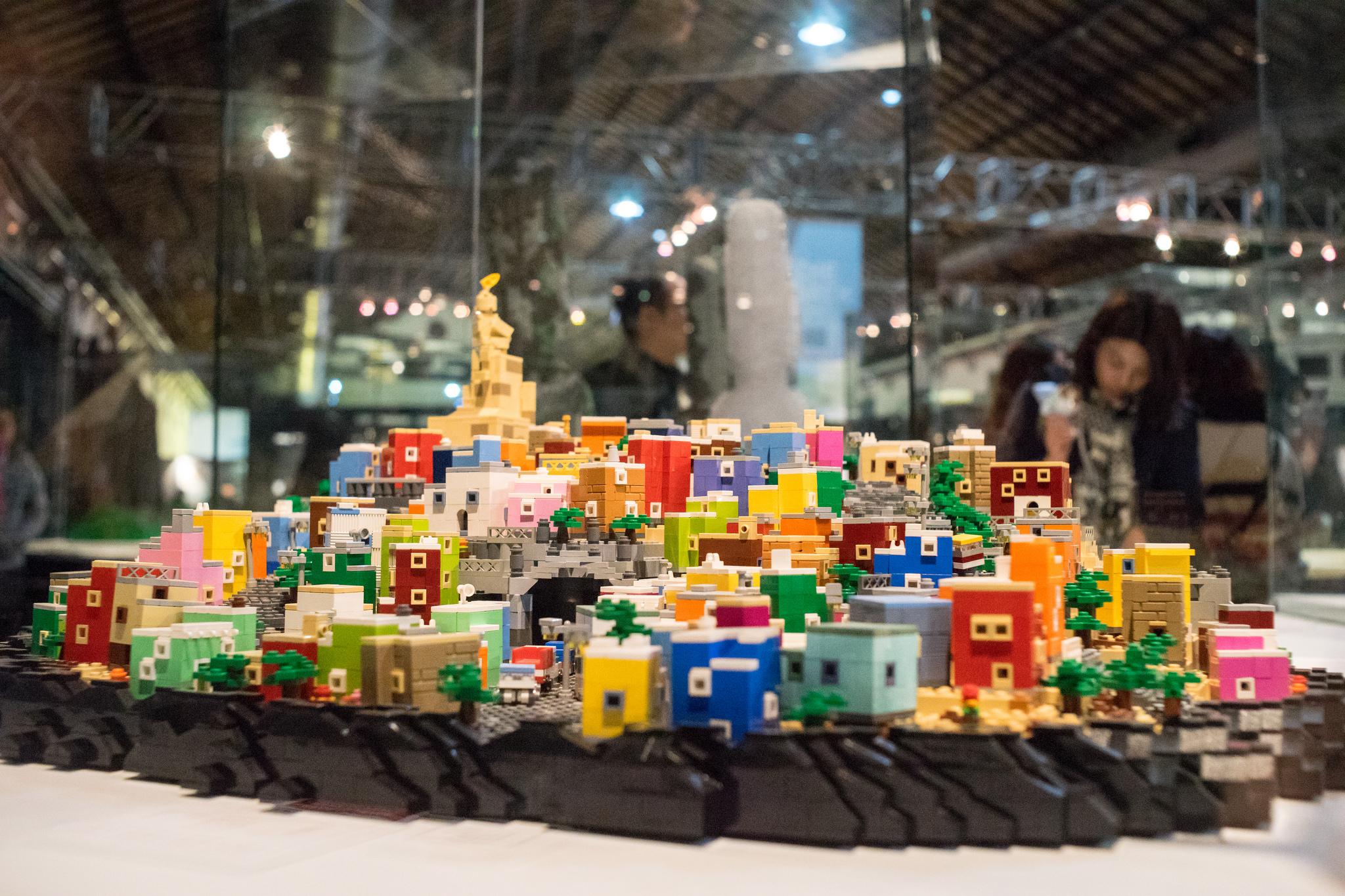 Guanajuato es parte de una asombrosa exposición recreada con piezas LEGO 🔨🇲🇽