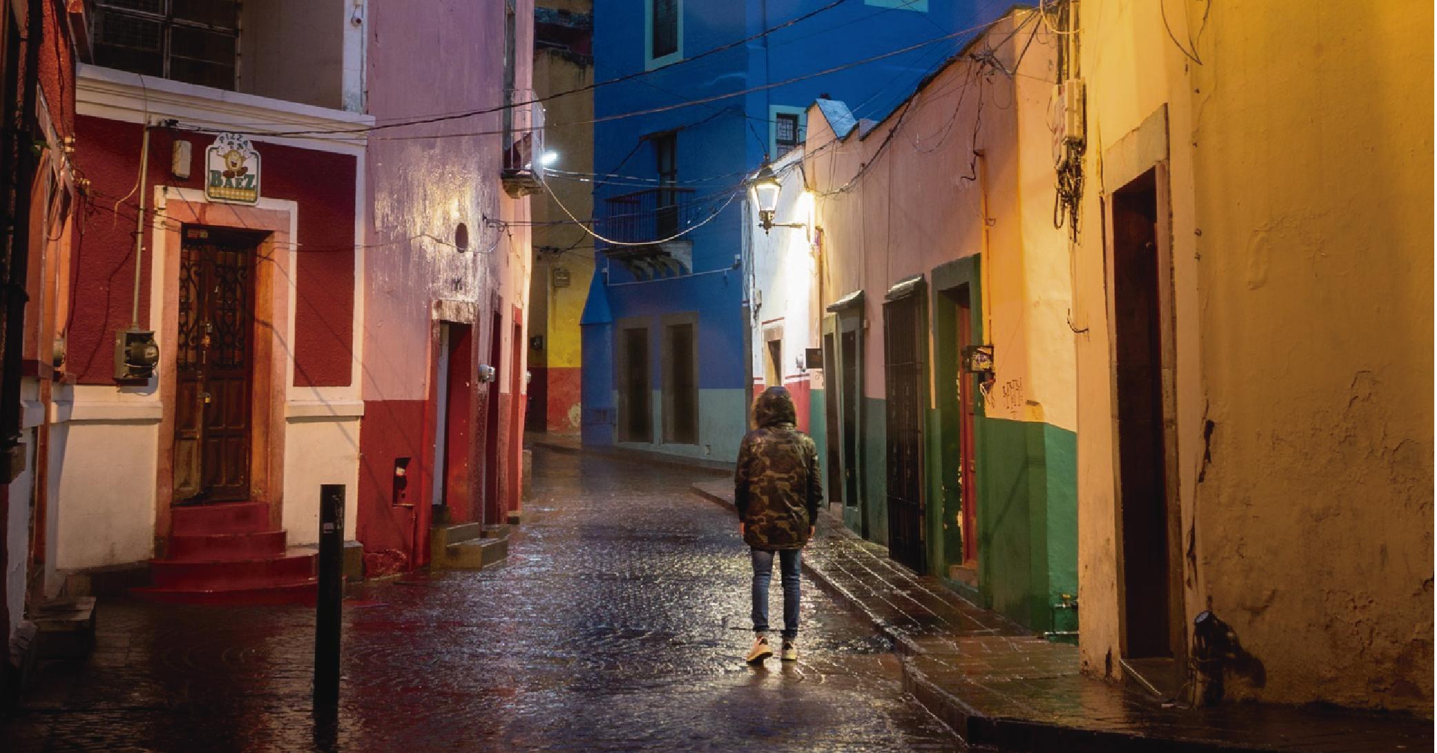 Temporada de lluvias en Guanajuato capital y su asombroso espectáculo urbano 😍 ☔️
