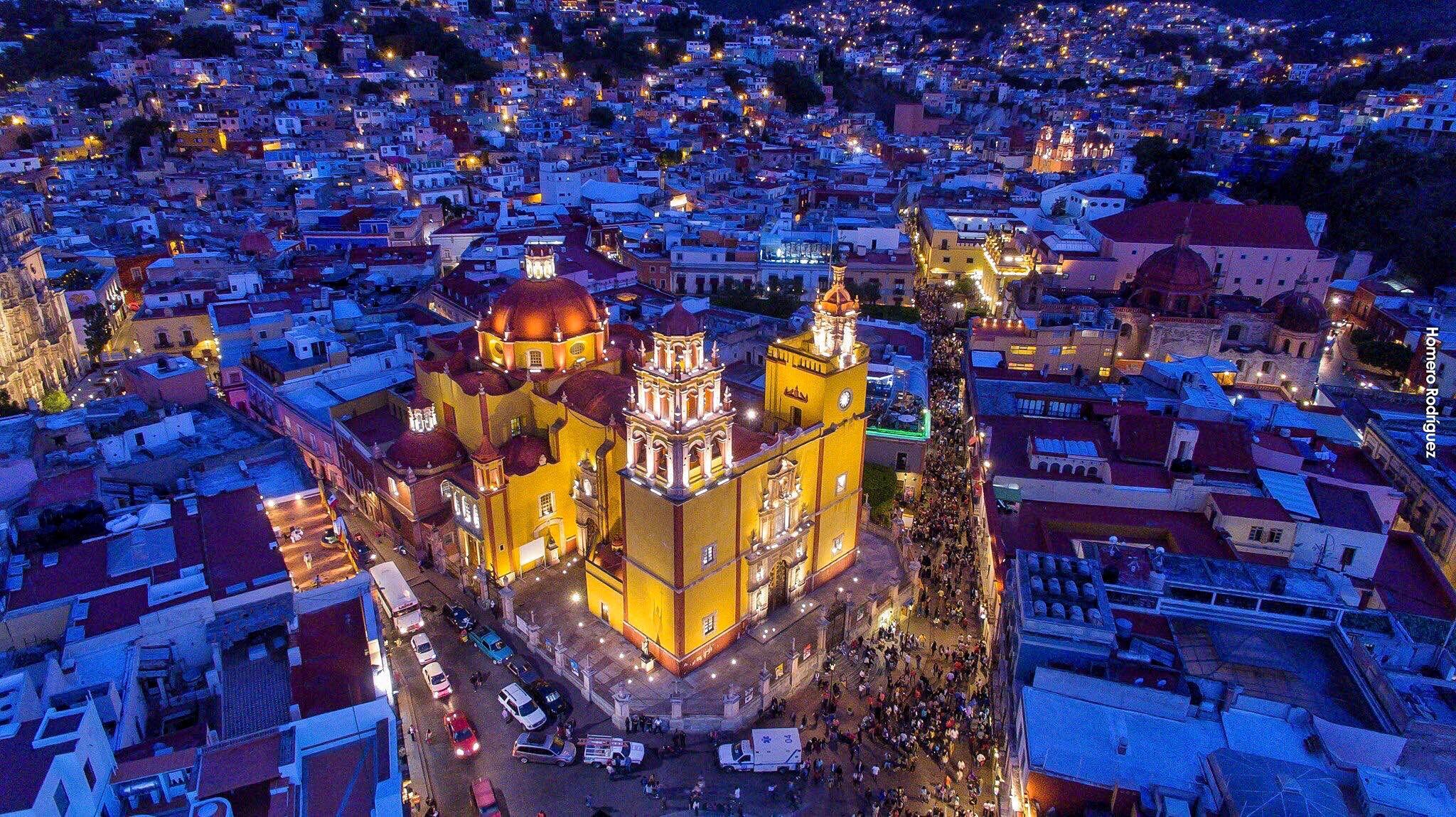 Fotos nocturnas de Guanajuato capital por las que no querrás que amanezca ✨ 🌙