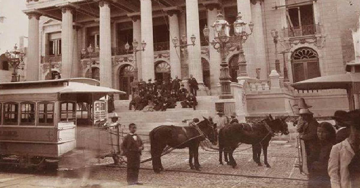 El tranvía que existió en Guanajuato capital: una historia que te transportará en el tiempo 🚋