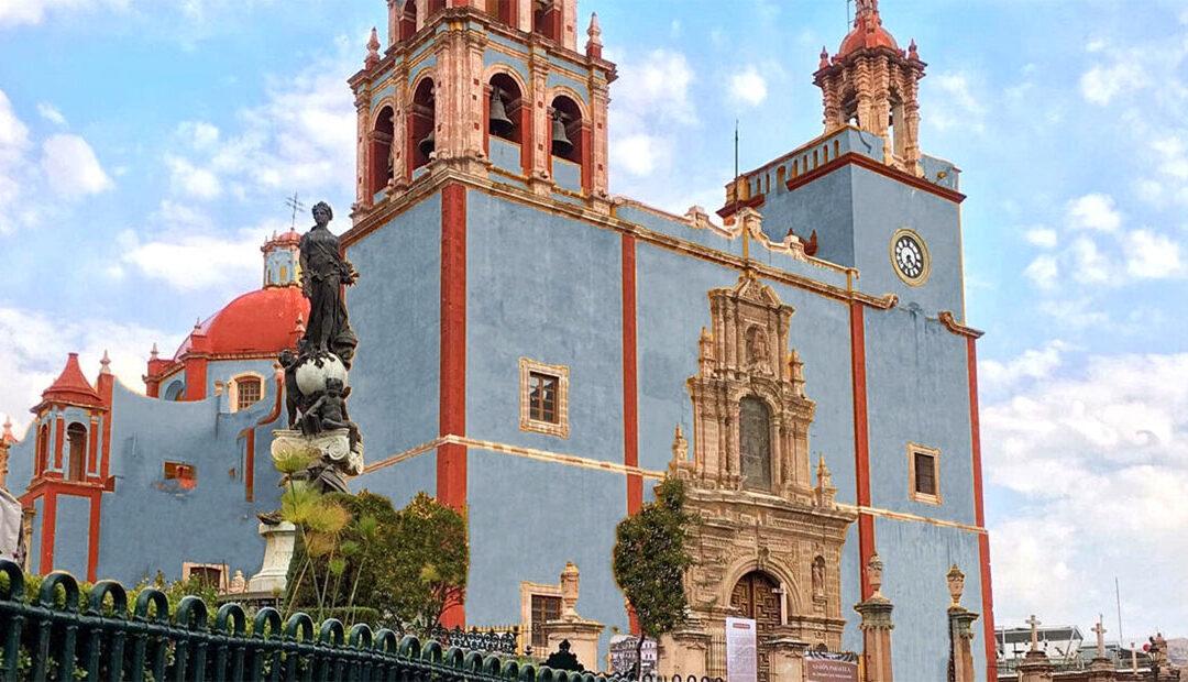 ¿Por qué la Basílica de Guanajuato es amarilla y cómo se vería con otros colores? Descúbrelo ⛪️ 🎨