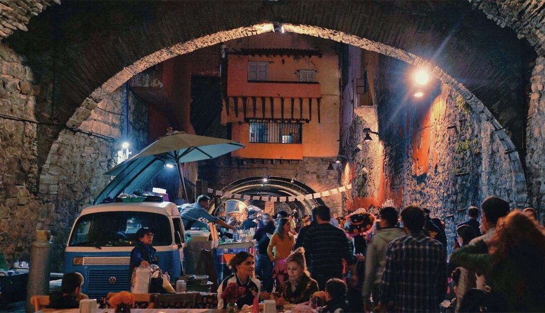 Festival de Día de Muertos que se celebra en los túneles de Guanajuato 🇲🇽 💀