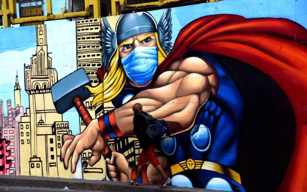 De muros a murales: artistas guanajuatenses crean coloridos museos urbanos 🎨 🖌