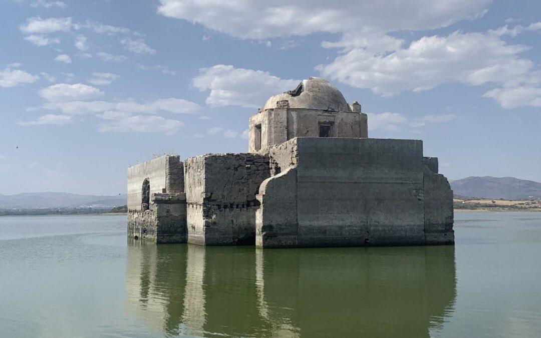 Templo hundido, una joya arquitectónica bajo el agua 💎 🇲🇽