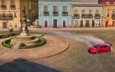 Xbox recreó plazas y callejones de Guanajuato para videjuego Forza Horizon 5 🏎 🇲🇽
