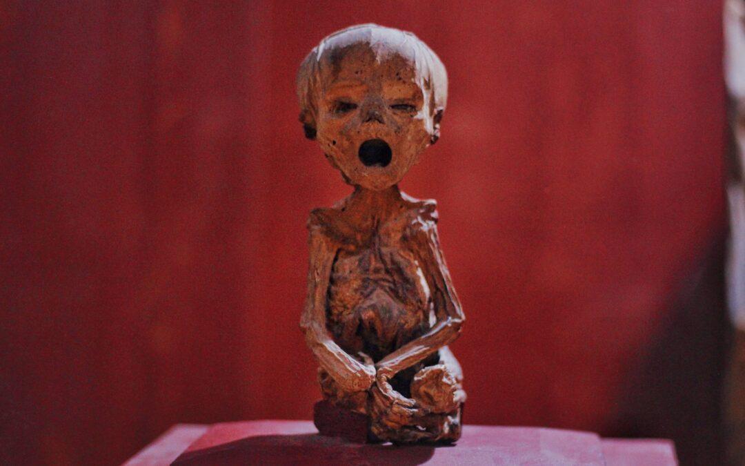 Una de las momias más pequeñas del mundo está en Guanajuato 😮 🇲🇽